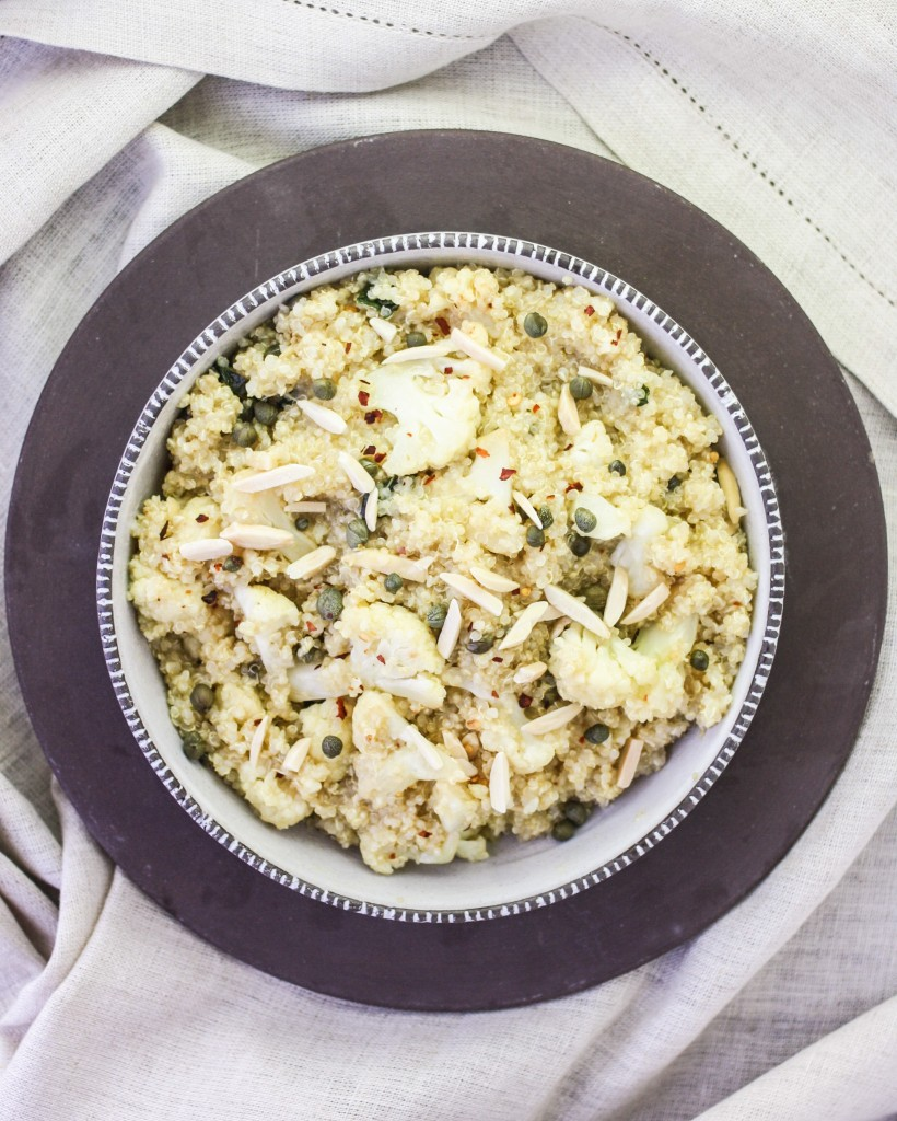 Lemon Cauliflower Quinoa