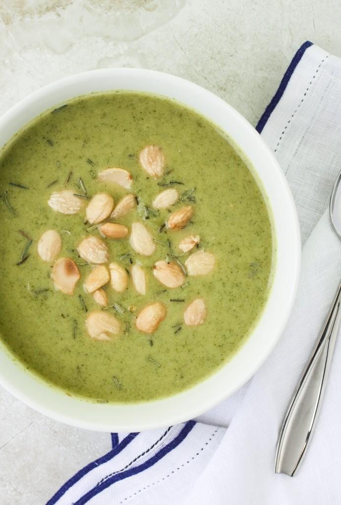 Broccoli White Bean Soup